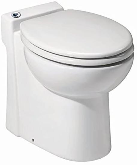 SFA Saniflo Sanicompact 023 tankless toilet