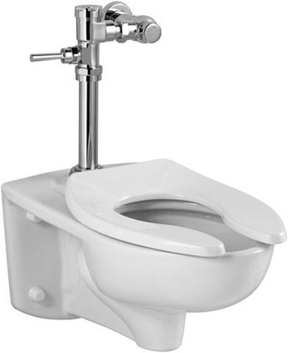 side toilet