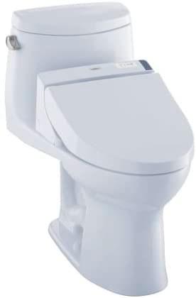 Toilet bidet combo