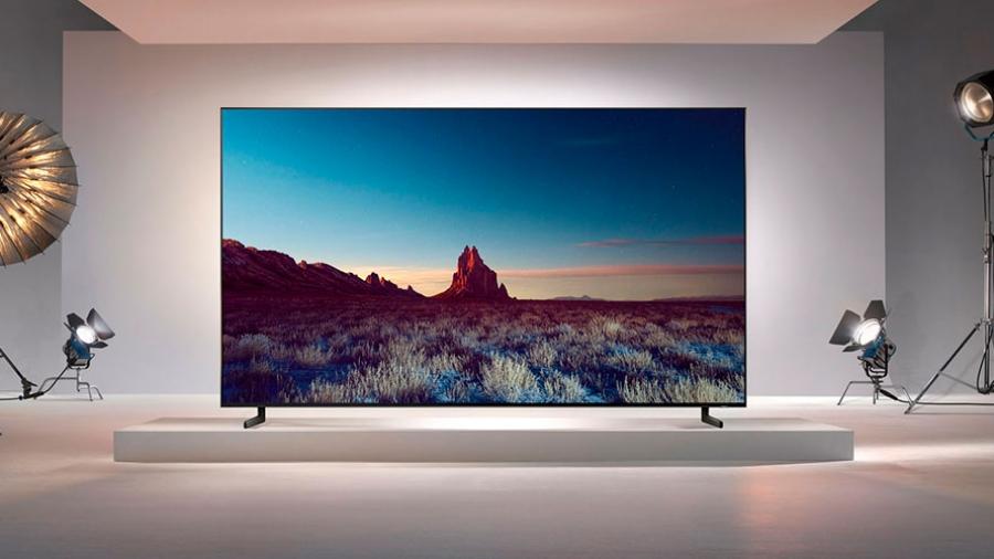 Samsung's 98-inch 8K TV.