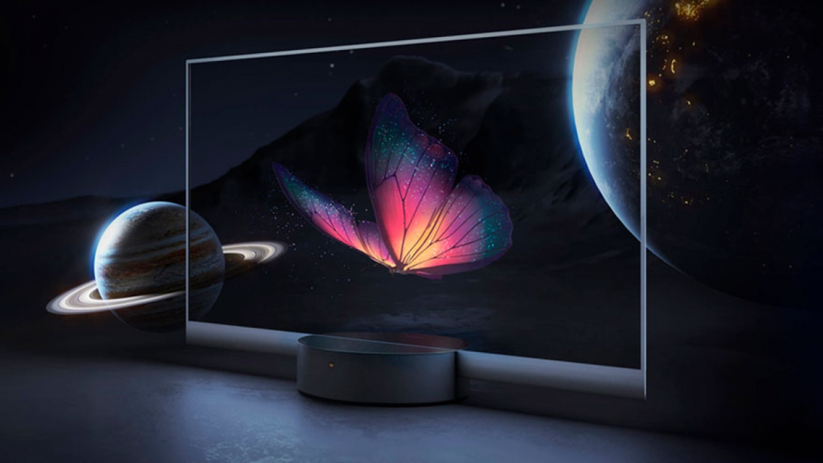 Xiaomi Mi TV Master OLED Transparent Edition