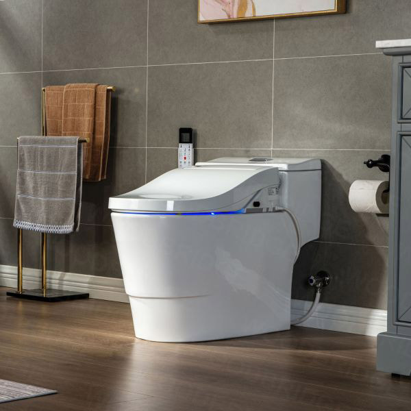 what can a smart toilet do