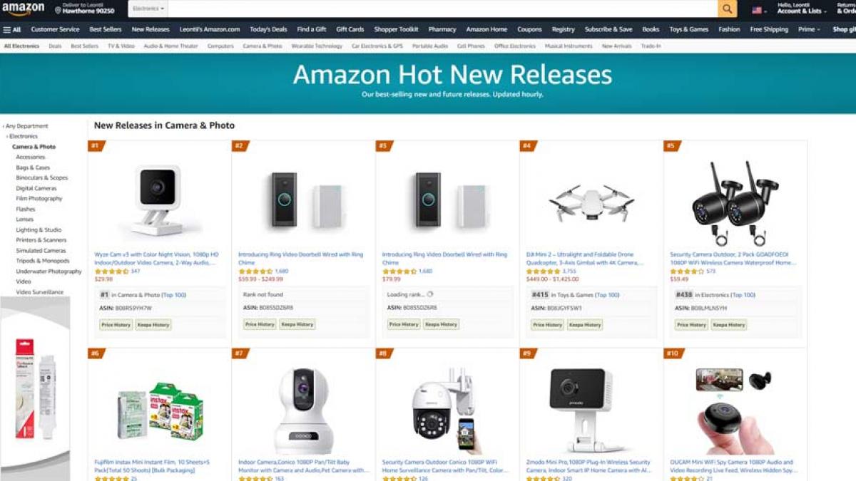amazon new releases